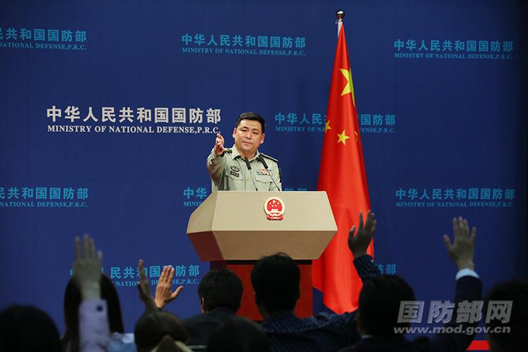 中国国防部新闻发言人 任国强