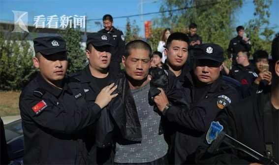 脱逃罪犯王磊被抓获
