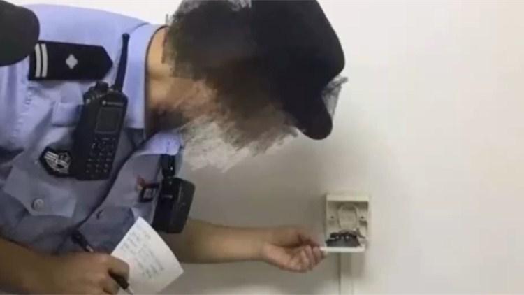 自如平台一租赁卧室暗藏摄像头!可遥控偷拍