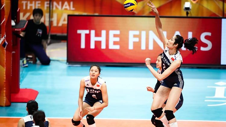 中国队3:0横扫荷兰 夺女排世锦赛季军