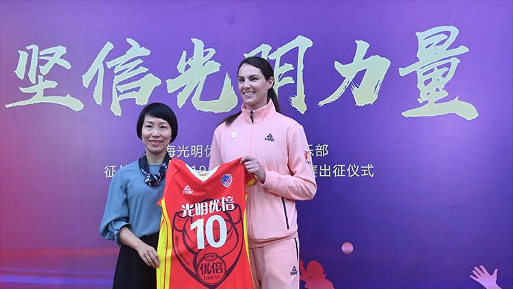 上海女排新外援到位 新赛季主客场制变成赛会制