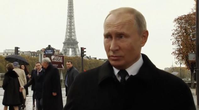 普京:俄方希望与美方就《中导条约》展开谈判