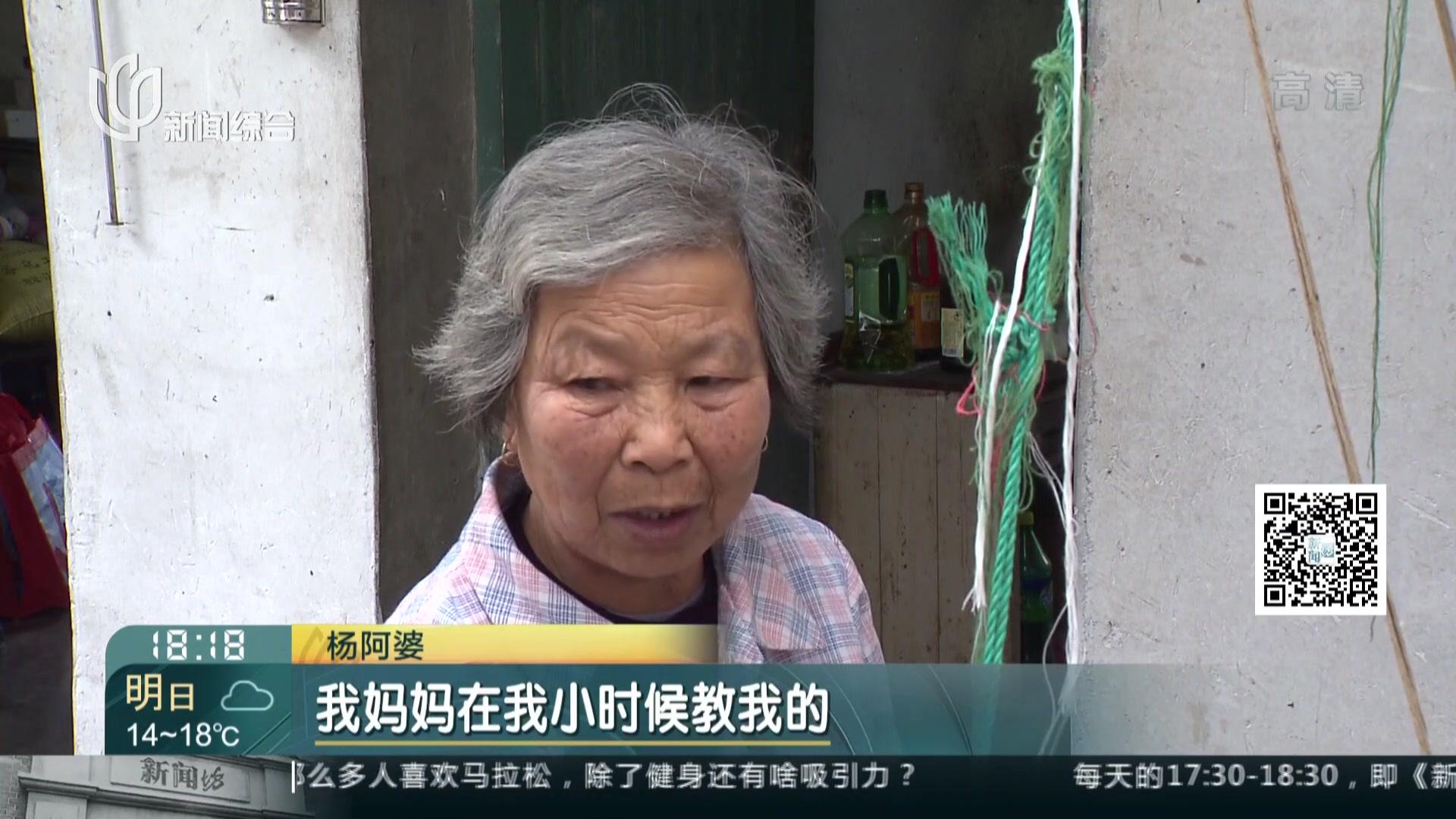 八旬老人爱织布  传统技艺承载悠悠岁月