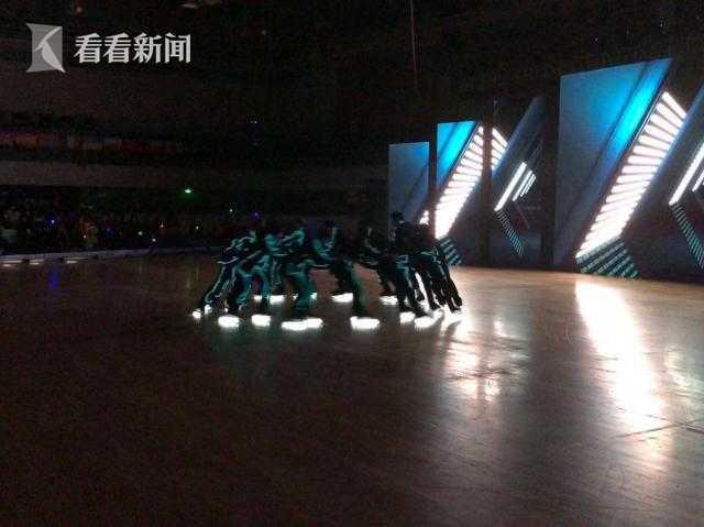 2018上海国际自由式轮滑公开赛在黄浦举行