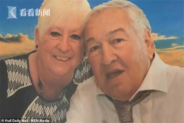 斯蒂芬·罗素和妻子帕特