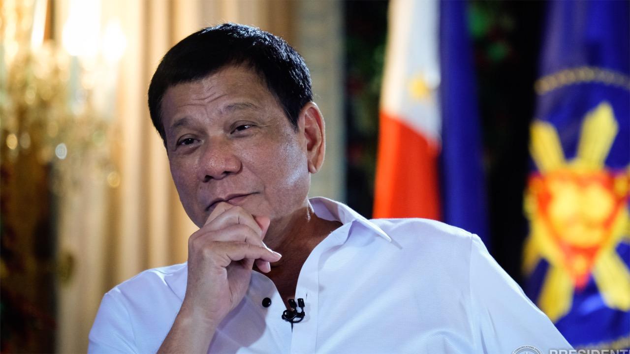 菲律宾总统杜特尔特:退休后想来中国买块地养老