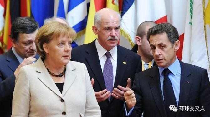 2010年2月 默克尔在欧盟领导人特别峰会上