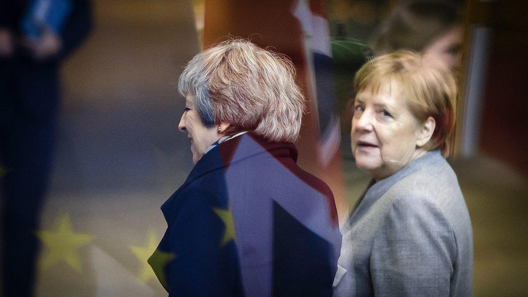 梅姨一天跑多国寻支持 默克尔:不会重新脱欧谈判