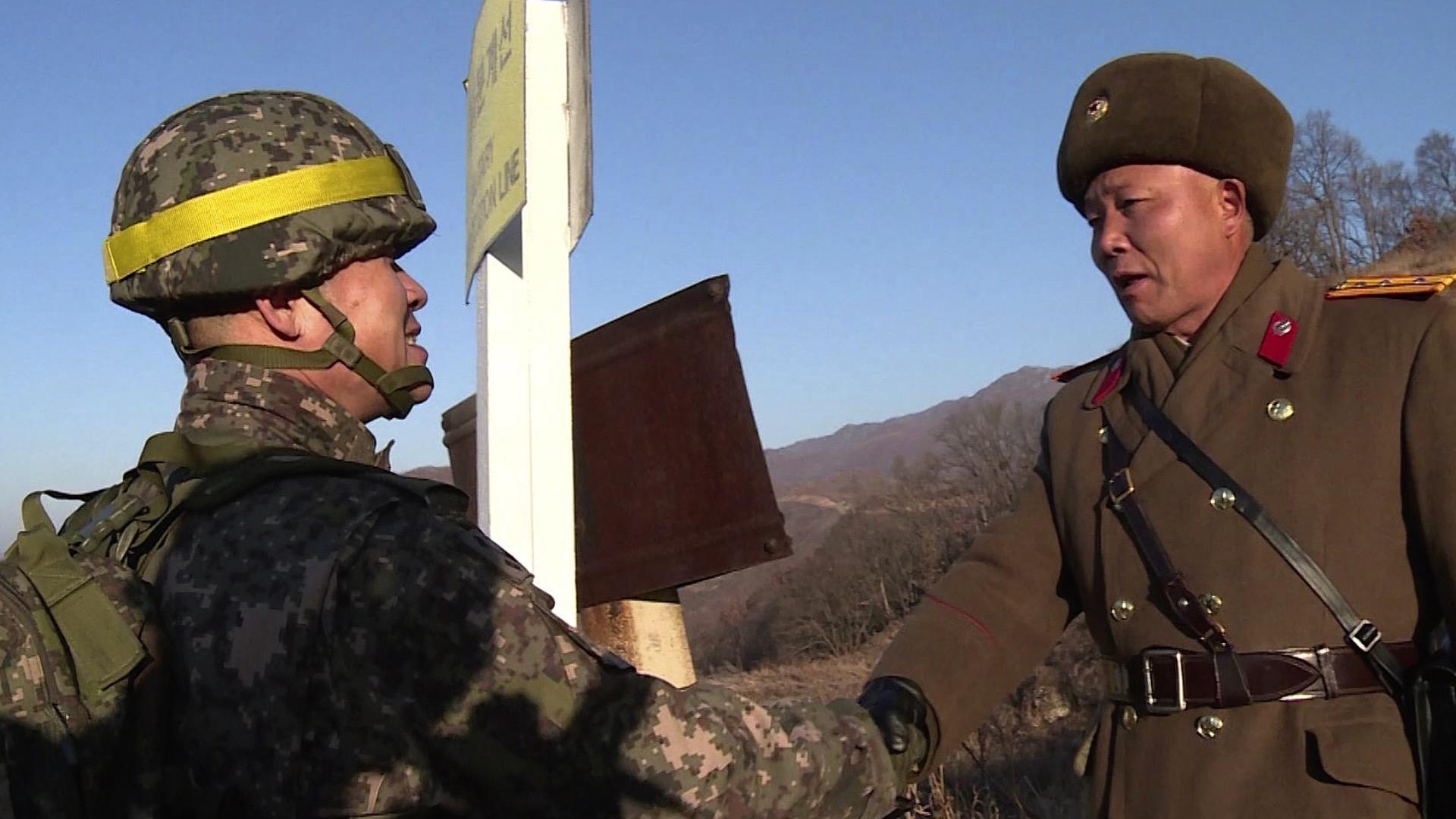 65年来首次!韩朝互访非军事区哨所 验证拆除情况