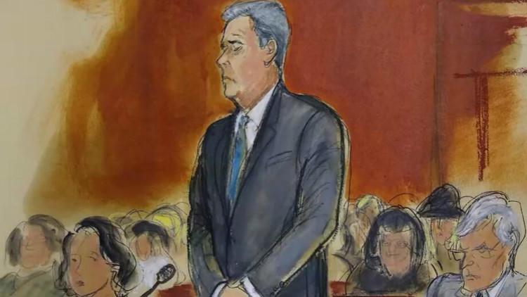 前律师被判刑称愚忠害己 特朗普无视记者拒评论