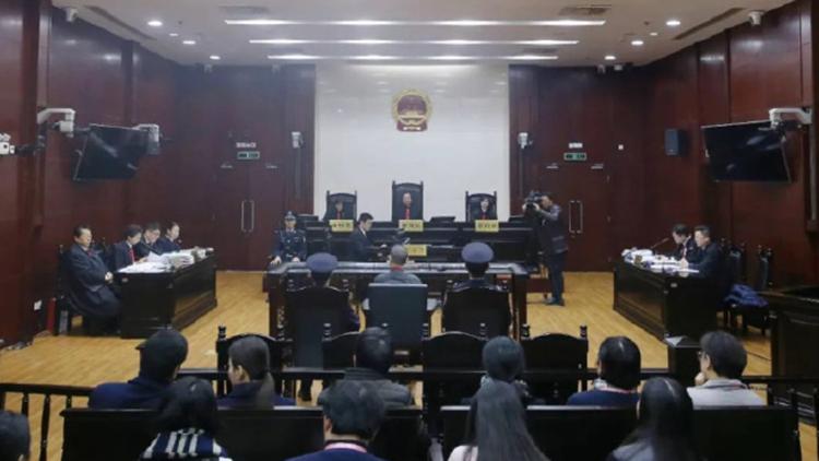 """上海高院二审公开开庭审理""""杀妻藏尸案"""""""