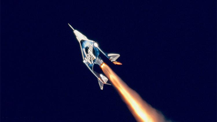 太空旅行来了!维珍银河载人飞船抵达太空边缘