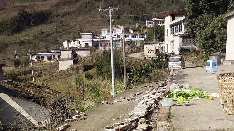 四川宜宾市兴文县发生5.7级地震 已造成多人受伤