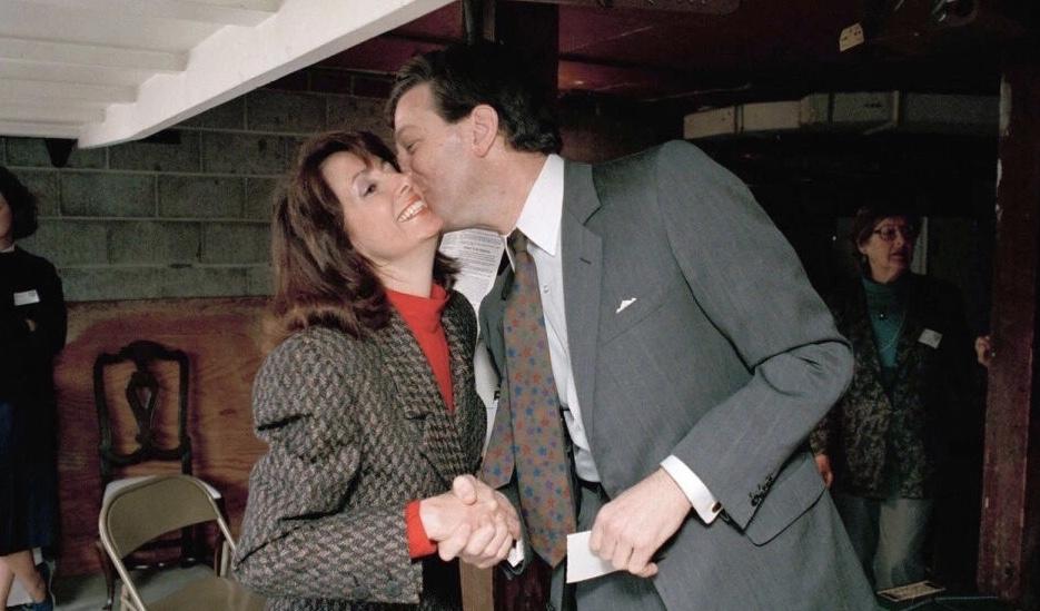 佩洛西与丈夫保罗·佩洛西