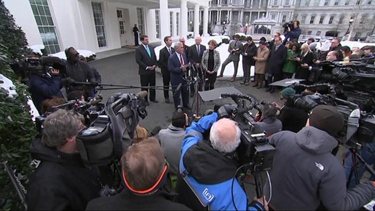 不赏脸!特朗普邀民主党议员白宫用午餐没人来