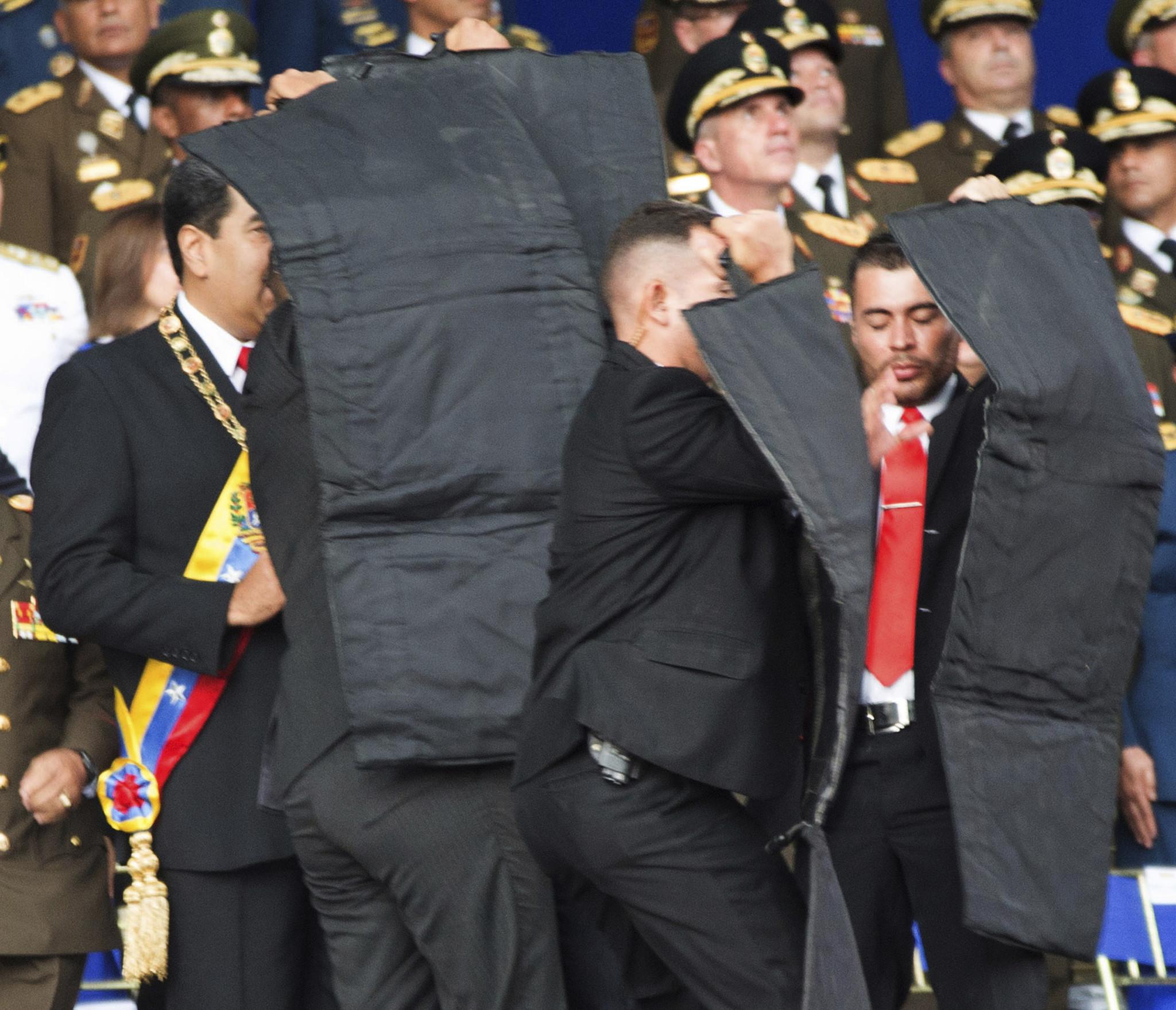 2018年8月5日 马杜罗遭未遂暗杀