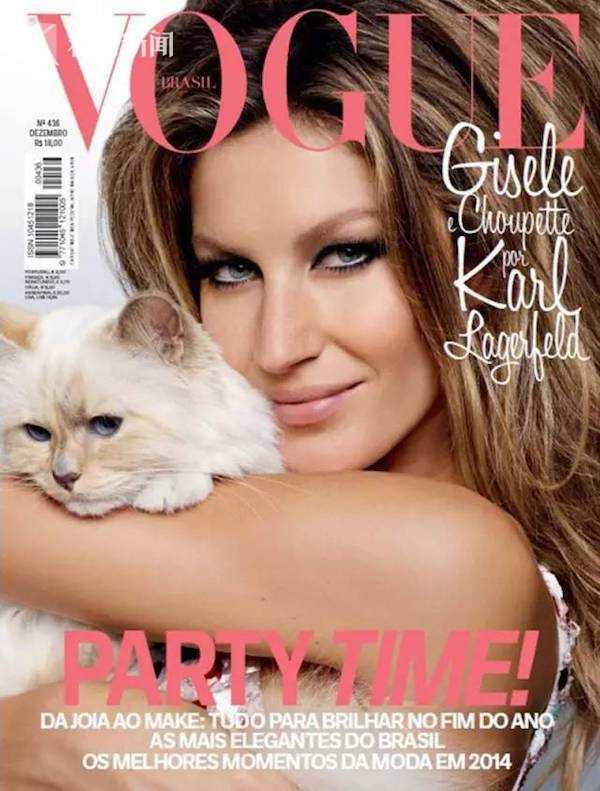和名模Gisele Bundchen登上《Vogue》封面