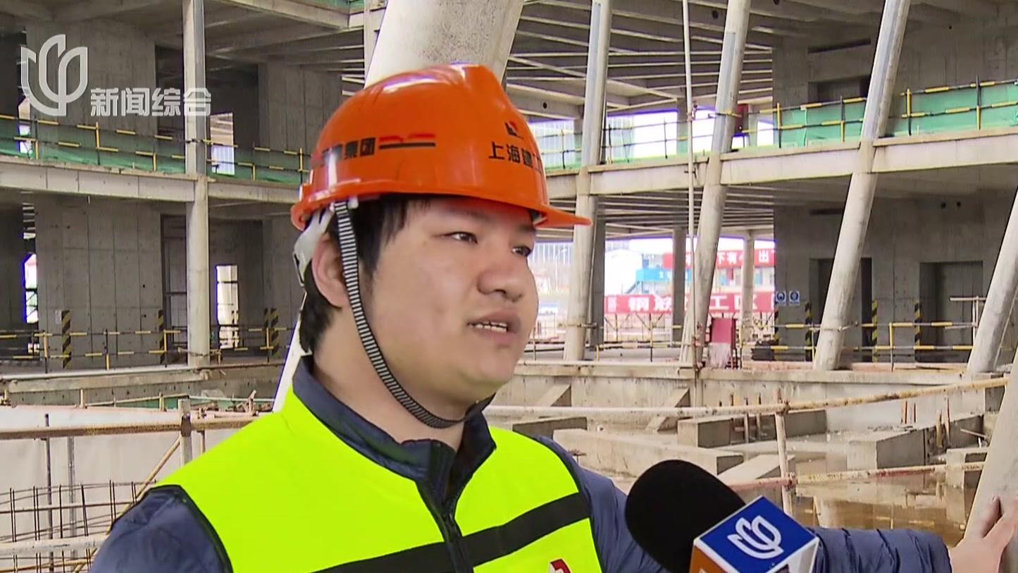 """大楼""""歪歪扭扭""""结构封顶  徐汇滨江将再添新地标"""