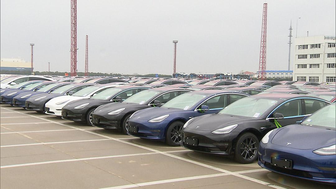 你订的特斯拉来啦!Model 3抵沪 将于下周起交付