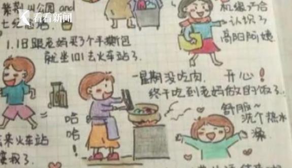 视频 父亲为她放弃治疗 患癌女孩手绘日记鼓励病友