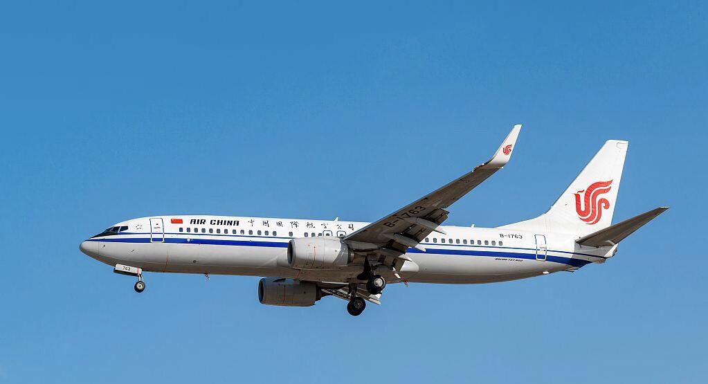 国航的737-800
