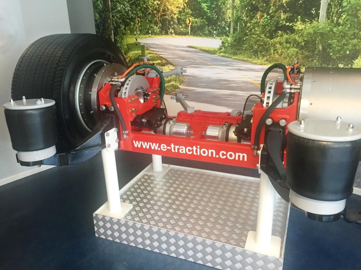 荷兰e-Traction拥有世界最先进的轮毂电机技术