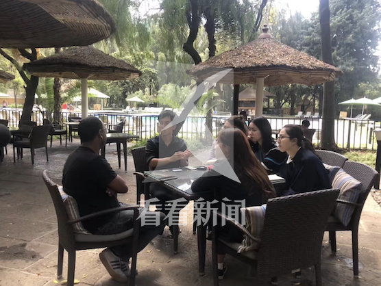 2019年2月,黄鸿翔在埃塞俄比亚调研