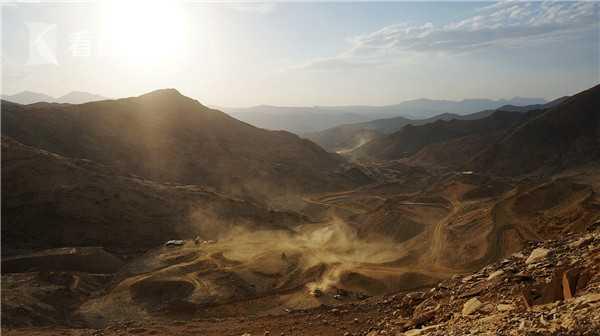 厄特金矿采矿现场