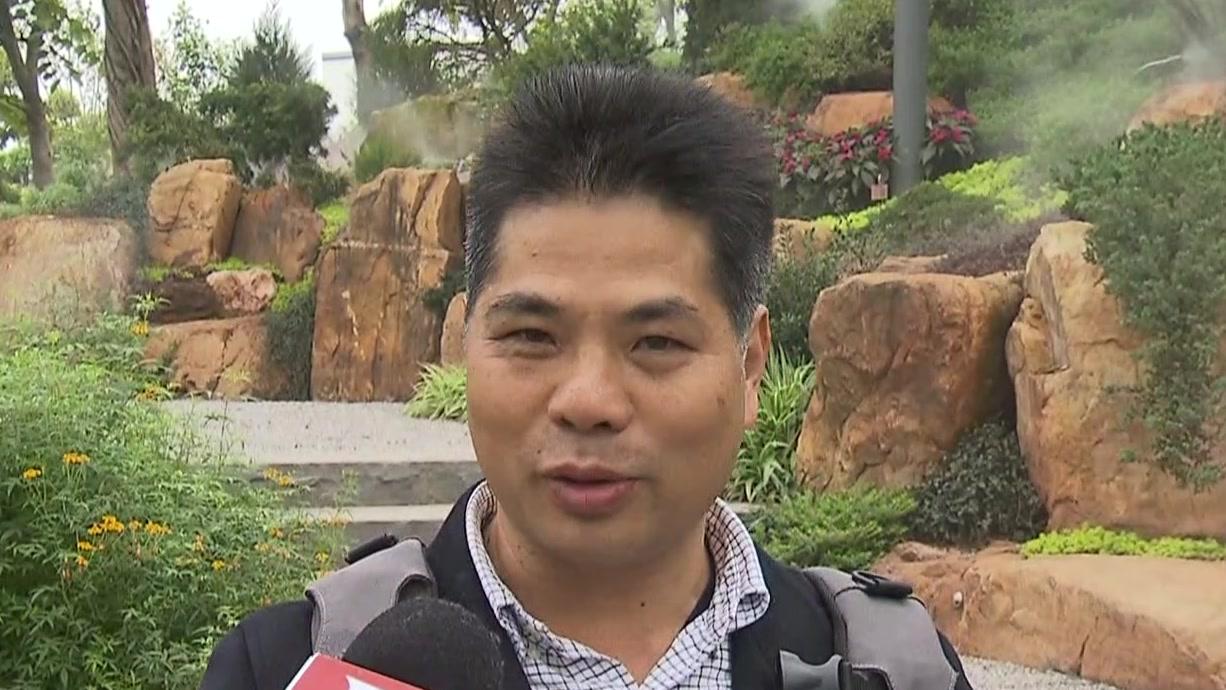 广西南宁:上海园亮相国际园博会  先进园艺技术可复制推广