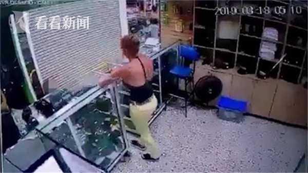 视频|警察与女友吵架闹分手 一时冲动竟朝自己开枪