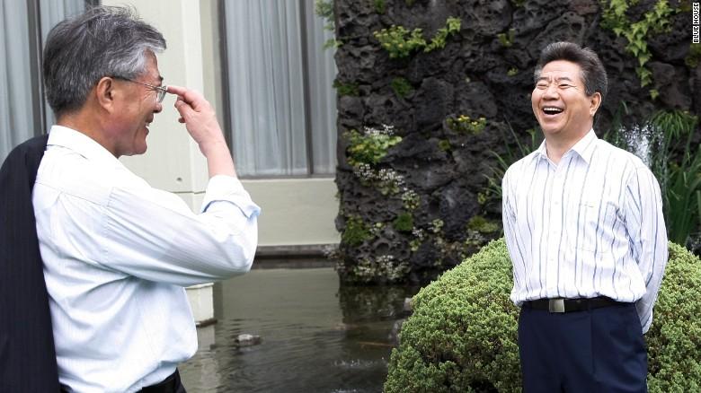 文在寅与卢武铉