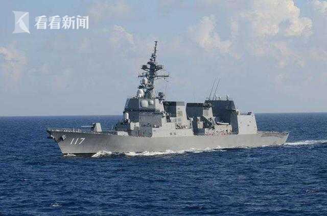 """日本海上自卫队""""凉月""""号驱逐舰"""