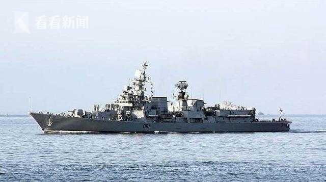 """印度""""德里""""级驱逐舰"""