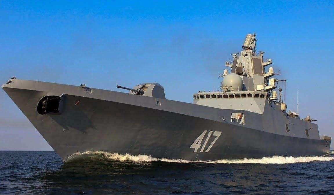 """俄罗斯""""戈尔什科夫海军元帅""""号护卫舰"""