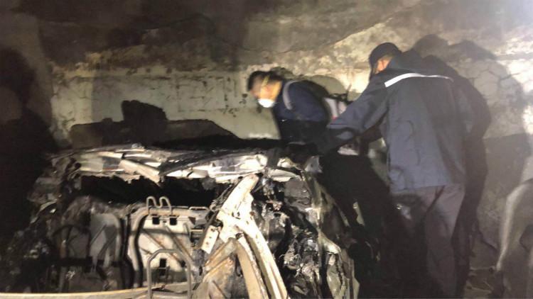消防赴特斯拉自燃现场勘查 初步判定没充电痕迹