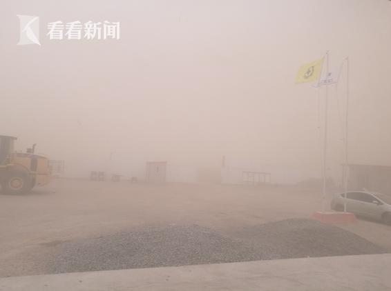 沙尘暴来袭