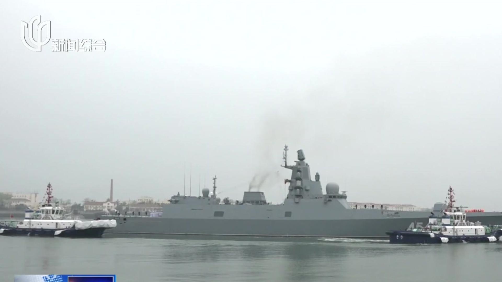 人民海军70周年  海上阅兵今日举行