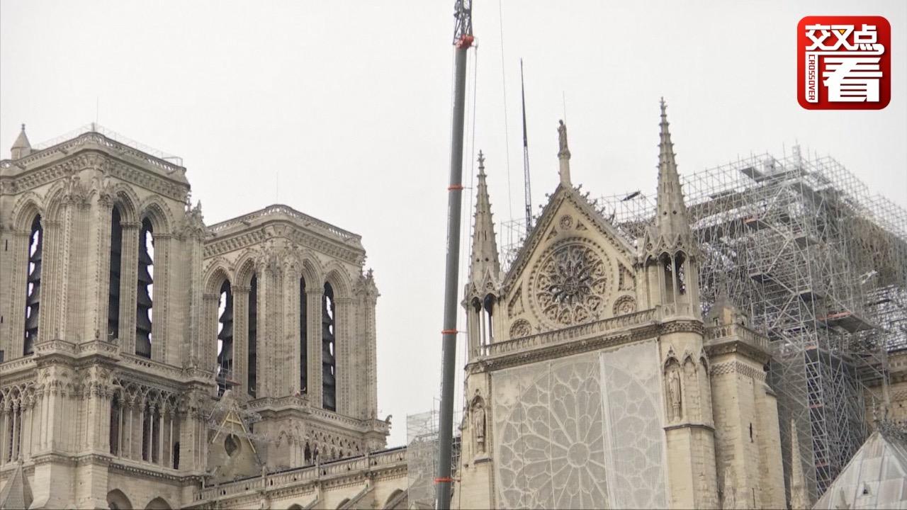 法国巴黎即将遭受暴雨侵袭 圣母院恐遭二次破坏