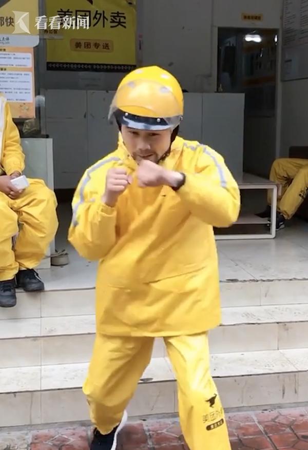 视频|超励志!90后外卖小哥逆袭成拳王:梦想从未熄灭