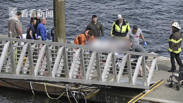视频 2架水上飞机相撞坠毁致5人死亡 1人失踪10人受伤