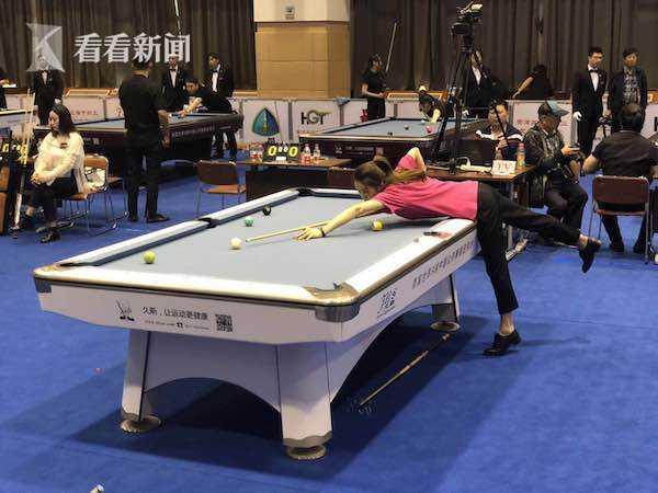 全国职工台球邀请赛在沪落幕 上海队伍夺冠