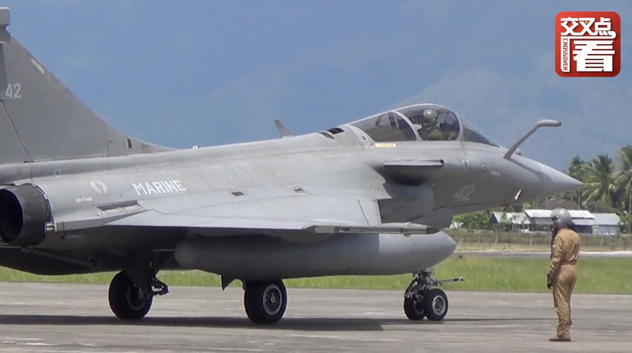 """7架法国战斗机遇险情 印尼""""不得不""""同意其迫降"""
