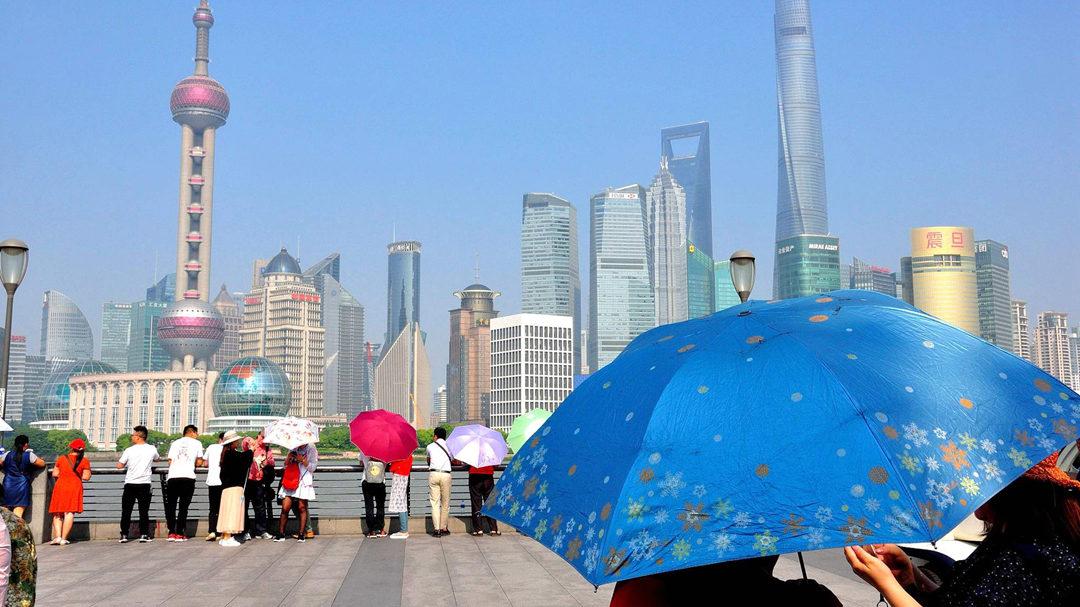 上海午后气温已超31℃ 创今年新高