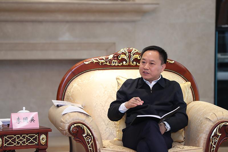 安徽省委副书记、省长李国英