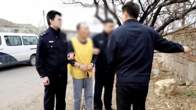一条土路起纠纷!男子酒后杀人 逃亡21年终被抓