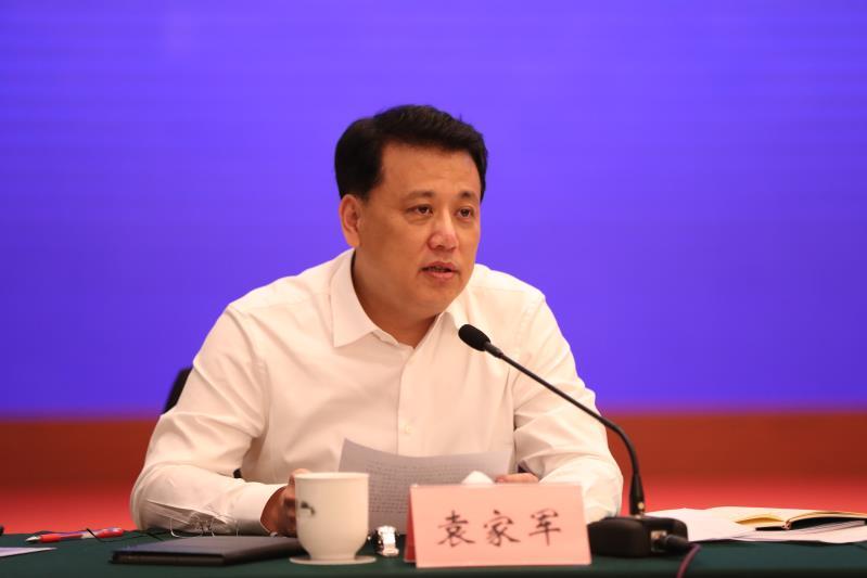 浙江省委副书记、省长袁家军