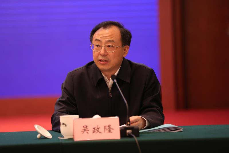 江苏省委副书记、省长吴政隆