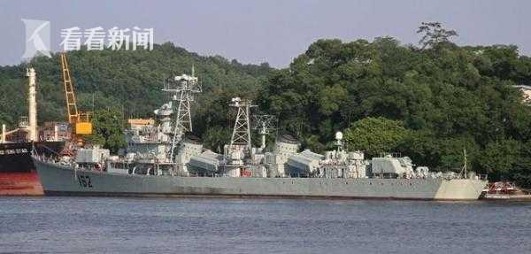 一度传说要改成海监执法船的162舰