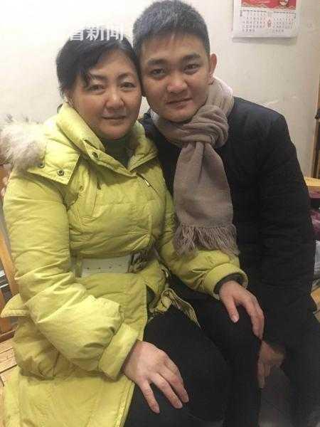 朱晓娟和26年失而复得的亲生儿子