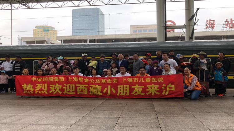 市儿童医院为19名西藏先心病儿进行爱心手术